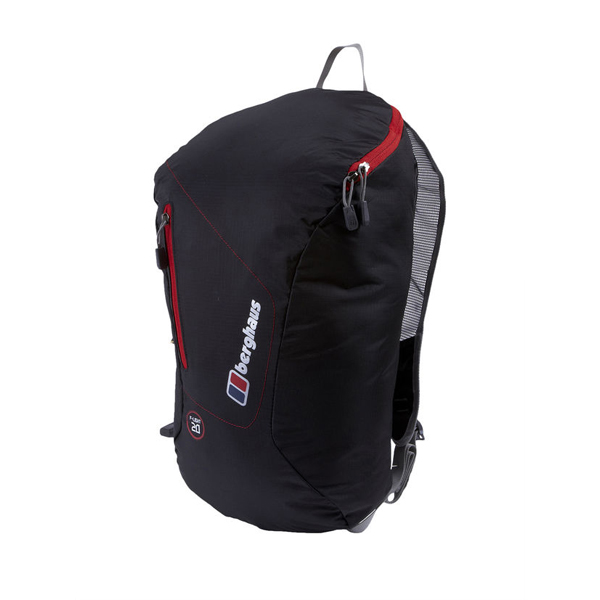 Equipment Berghaus F-LIGHT 20 RUCKSACK BLACK/EXTREM RED Outlet Online