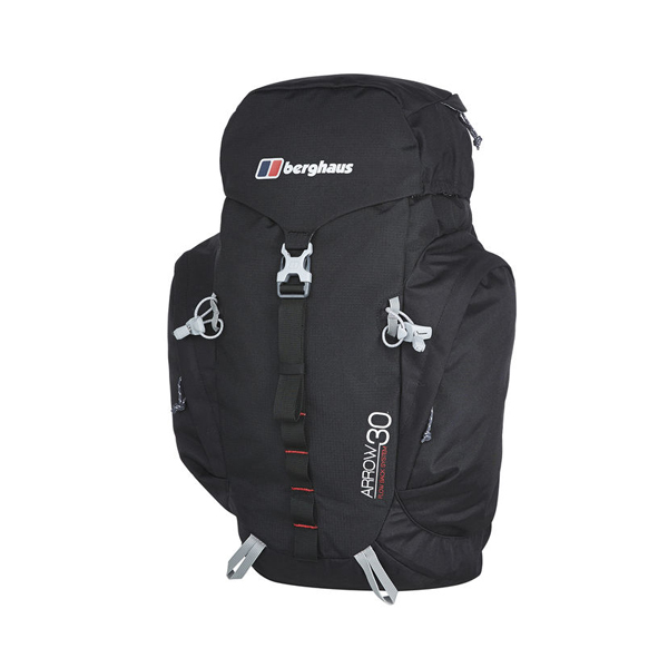 Equipment Berghaus ARROW 30 RUCKSACK BLACK/EXTREM RED Outlet Online