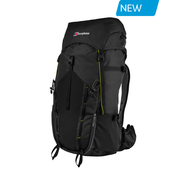 Equipment Berghaus FREEFLOW 40 RUCKSACK BLACK Outlet Online