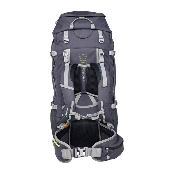 Equipment Berghaus RIDGEWAY 65+10 RUCKSACK DARK GREY / GREEN Outlet Online