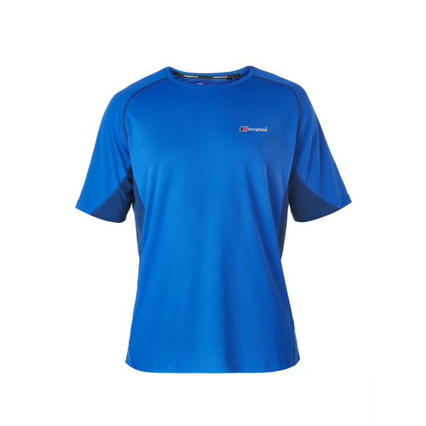 Men Berghaus SHORT SLEEVE CREW NECK TECH T-SHIRT BLUE / DARK BLUE Outlet Online