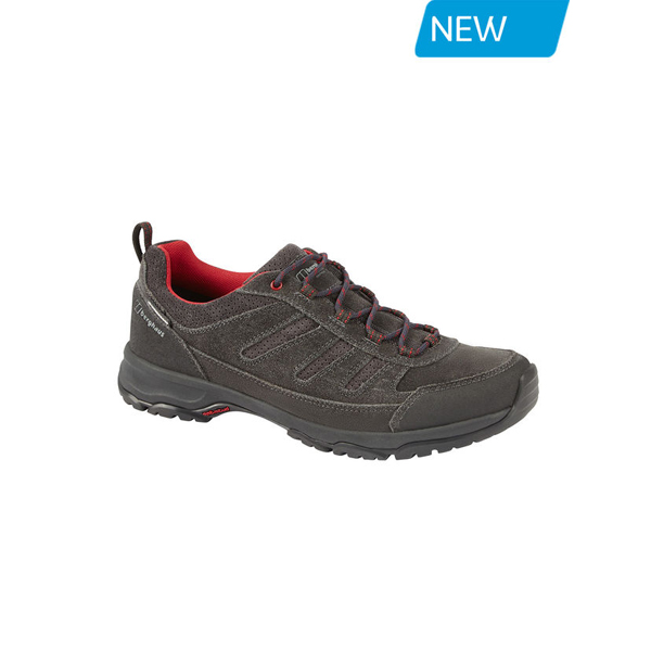 Men Berghaus EXPEDITOR ACTIVE AQ TECH SHOES  DARK GREY / RED Outlet Online