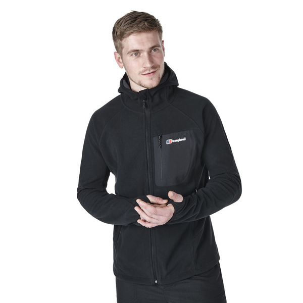 Men Berghaus BEN OSS WINDPROOF JACKET BLACK Outlet Online