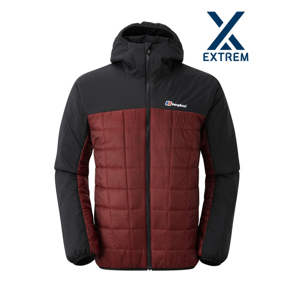 Men Berghaus REVERSA JACKET BLACK / DARK RED Outlet Online