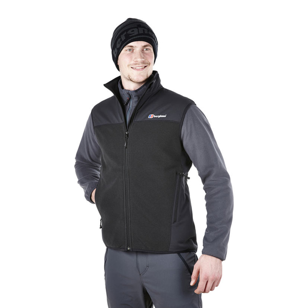 Men Berghaus FORTROSE PRO FLEECE GILET BLACK Outlet Online
