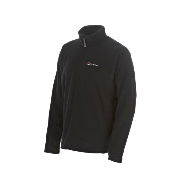 Men Berghaus HALF ZIP ARNSIDE FLEECE BLACK Outlet Online