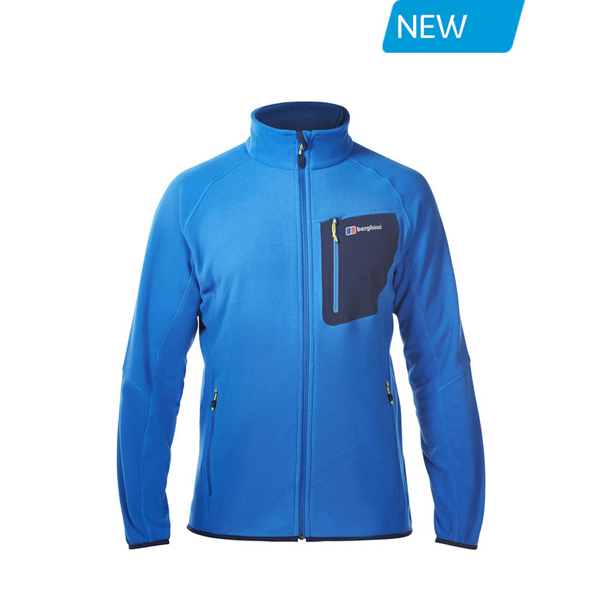 Men Berghaus DECEPTION FLEECE BLUE Outlet Online