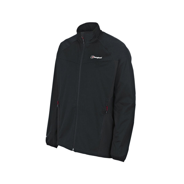 Men Berghaus CADENCE WINDPROOF JACKET BLACK Outlet Online