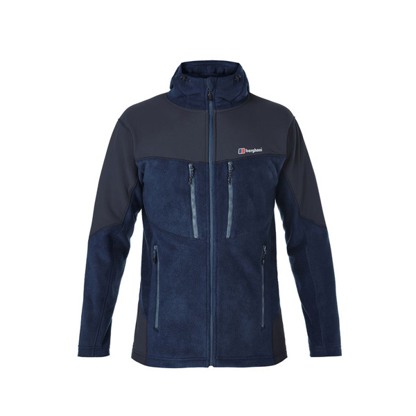 Men Berghaus ACTIVITY GUIDE FLEECE DARK BLUE Outlet Online