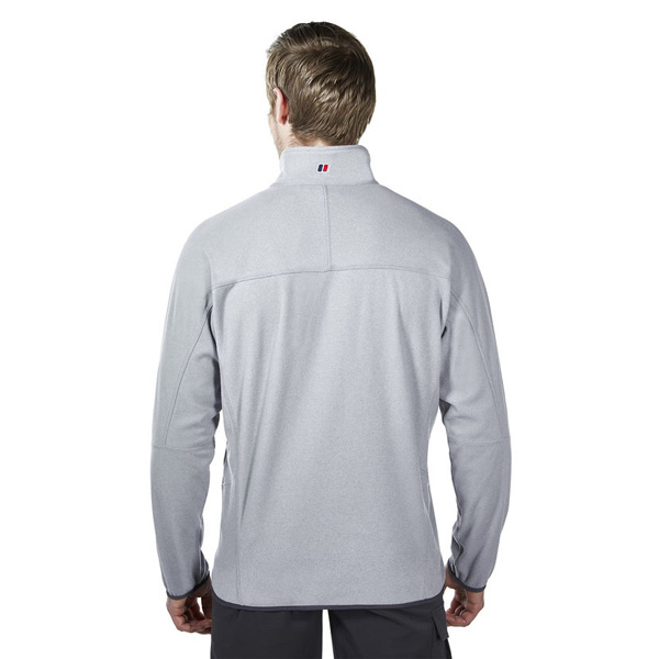 Men Berghaus SPECTRUM MICRO 2.0 HALF ZIP FLEECE GREY Outlet Online