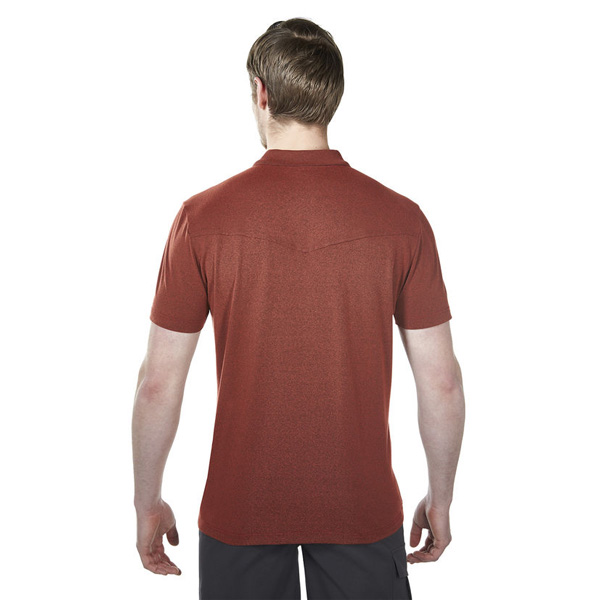 Men Berghaus VOYAGER POLO SHIRT RED Outlet Online