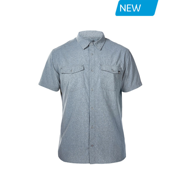 Men Berghaus EXPLORER 2.0 SHORT SLEEVE SHIRT GREY Outlet Online