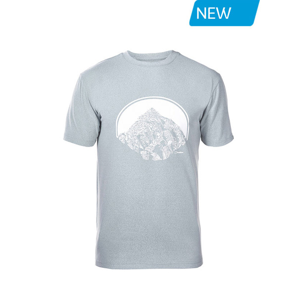 Men Berghaus VOYAGER PEAK T-SHIRT LIGHT GREY Outlet Online
