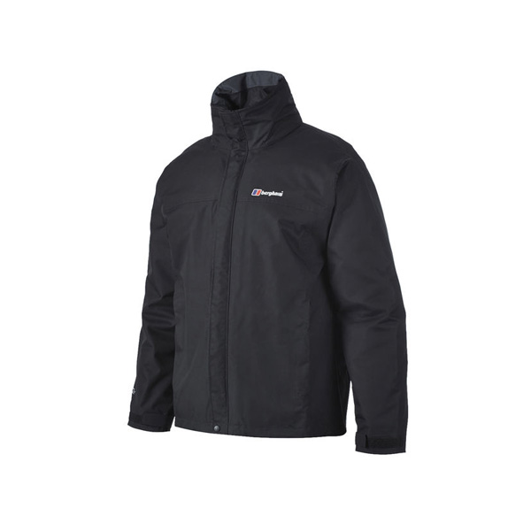 Men Berghaus RG ALPHA WATERPROOF JACKET BLACK Outlet Online