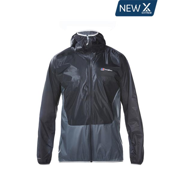 Men Berghaus HYPER EXTREM WATERPROOF JACKET DARK GREY / LIGHT GREY Outlet Online