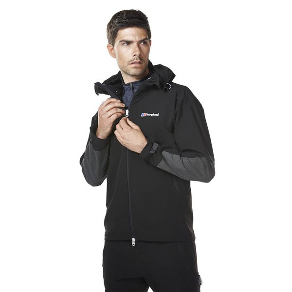 Men Berghaus EXTREM FAST CLIMB SOFTSHELL JACKET BLACK Outlet Online