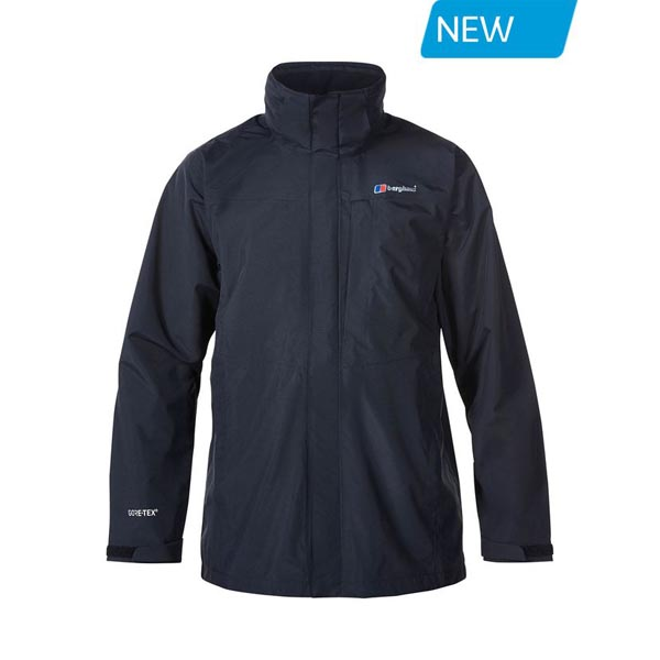 Men Berghaus LONG HILLWALKER WATEPROOF JACKET BLACK Outlet Online