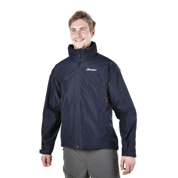 Men Berghaus THUNDER WATERPROOF JACKET DARK BLUE Outlet Online