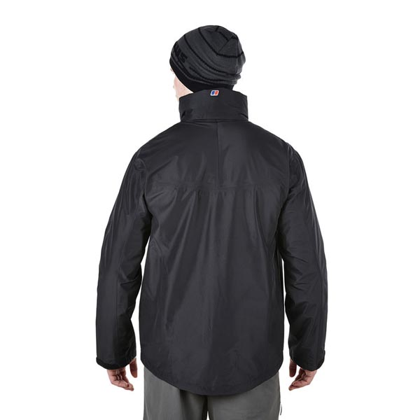 Men Berghaus THUNDER WATERPROOF JACKET BLACK Outlet Online