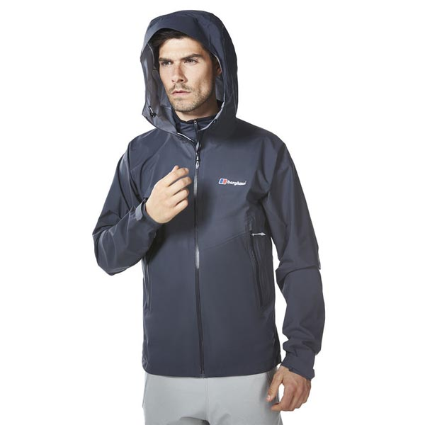 Men Berghaus FASTPACKING EXTREM WATERPROOF JACKET DARK GREY Outlet Online