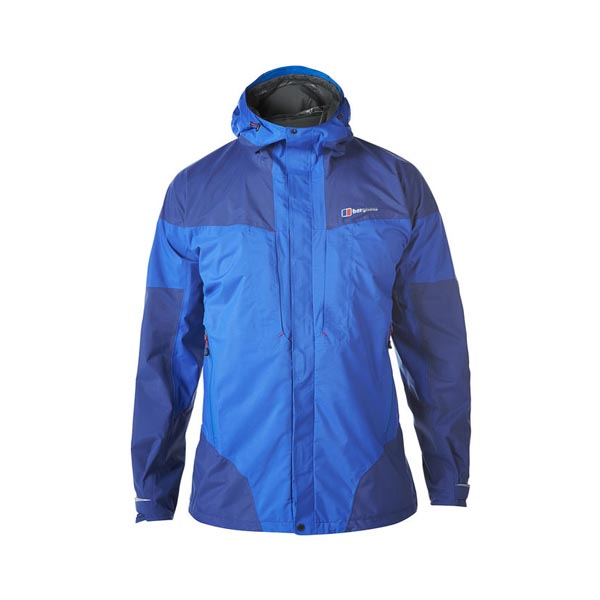 Men Berghaus LIGHT TREK WATERPROOF JACKET BLUE Outlet Online