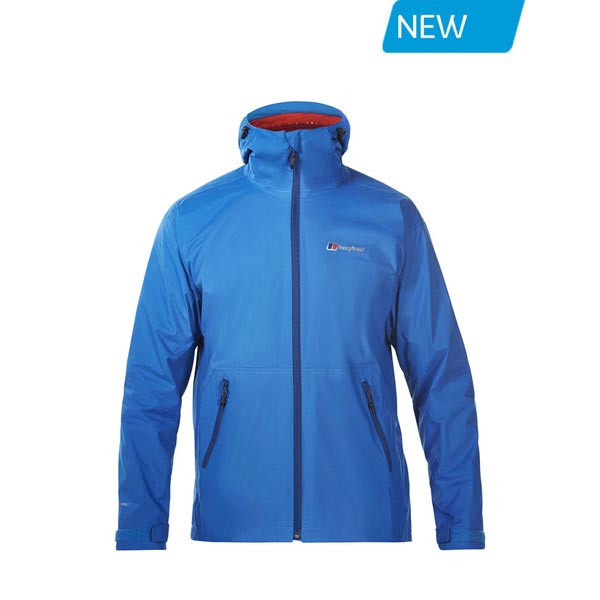 Men Berghaus STORMCLOUD WATERPROOF JACKET BLUE Outlet Online