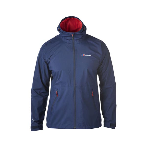Men Berghaus STORMCLOUD WATERPROOF JACKET DARK BLUE Outlet Online