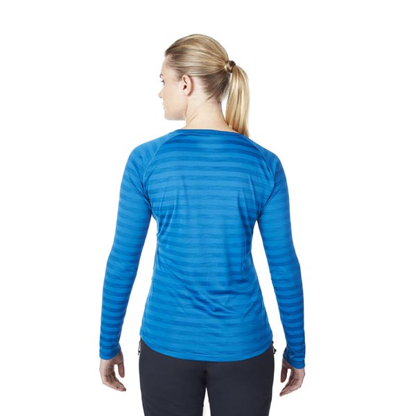 Women Berghaus STRIPED TECH T-SHIRT BLUE Outlet Online