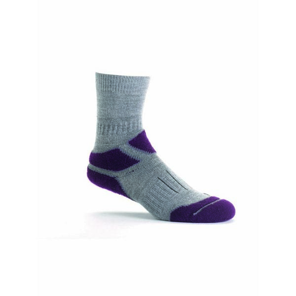 Women Berghaus EXPEDITOR SOCKS MID GREY/DARK PURPLE Outlet Online