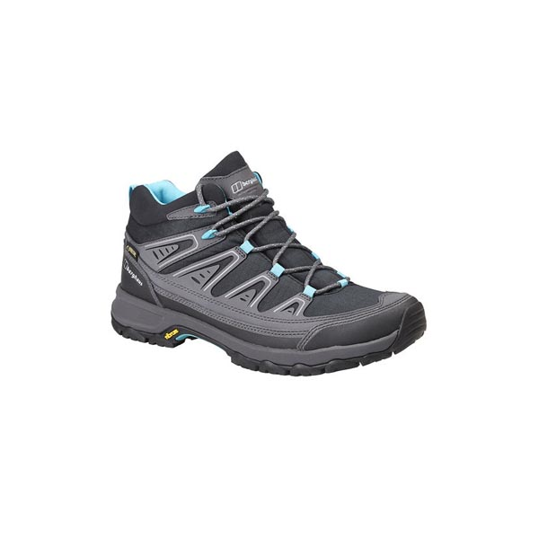 Women Berghaus EXPLORER ACTIVE GTX BOOTS BLACK / LIGHT TURQUOISE Outlet Online