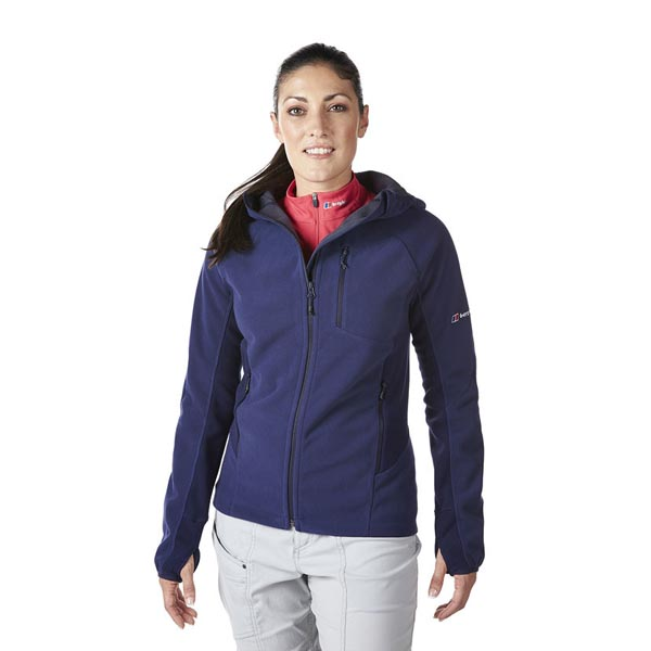 Women Berghaus BEN OSS WINDPROOF HOODIE EVENING BLUE Outlet Online