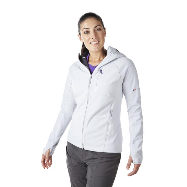 Women Berghaus BEN OSS WINDPROOF HOODIE MICRO CHIP Outlet Online