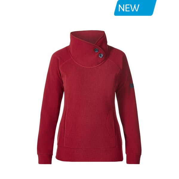 Women Berghaus PAVEY FLEECE RED Outlet Online