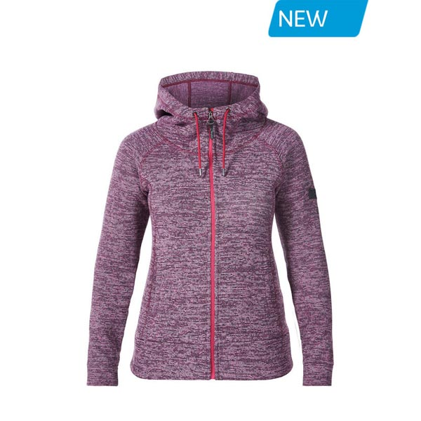 Women Berghaus EASTON FLEECE HOODIE PINK Outlet Online