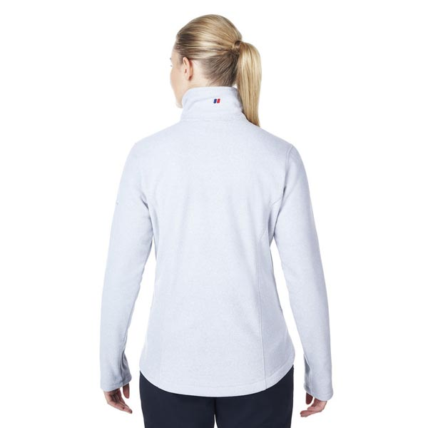 Women Berghaus ACTIVITY 2.0 INTERACTIVE FLEECE GREY / WHITE Outlet Online