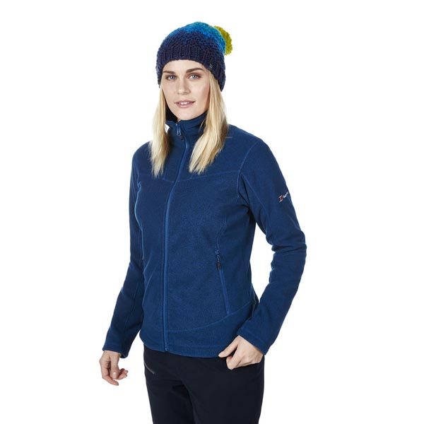 Women Berghaus ACTIVITY 2.0 INTERACTIVE FLEECE DARK BLUE / BLACK Outlet Online
