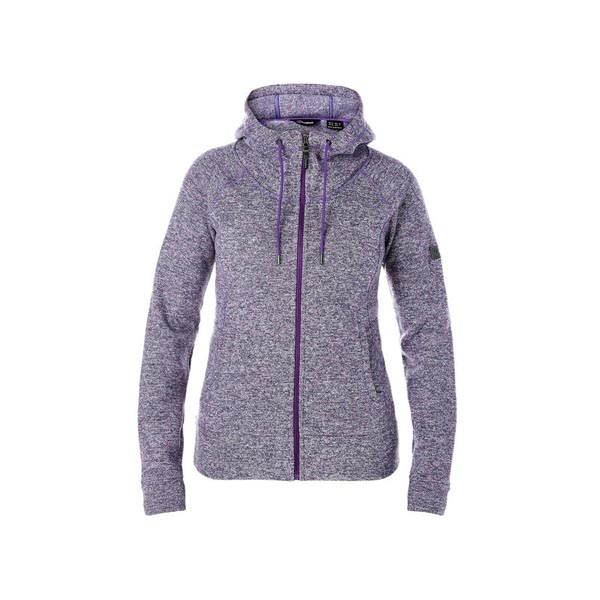 Women Berghaus EASTON FLEECE HOODIE PURPLE Outlet Online