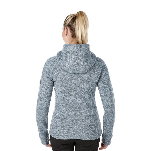 Women Berghaus EASTON FLEECE HOODIE LIGHT GREY Outlet Online