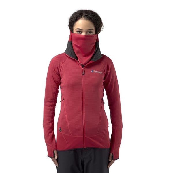Women Berghaus EXTREM 7000 HOODIE RED Outlet Online