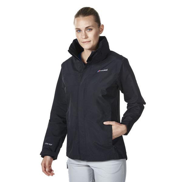 Women Berghaus HILLWALKER WATERPROOF JACKET BLACK Outlet Online