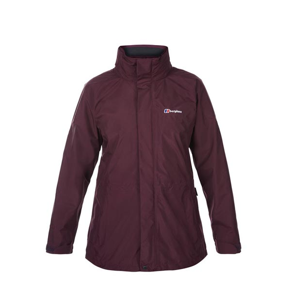 Women Berghaus GLISSADE INTERACTIVE JACKET DARK PURPLE Outlet Online
