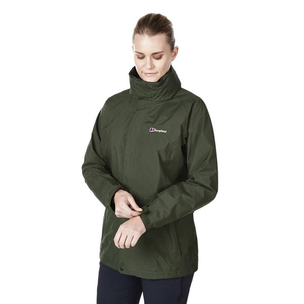 Women Berghaus GLISSADE INTERACTIVE JACKET GREEN Outlet Online