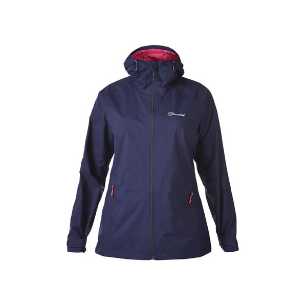 Women Berghaus STORMCLOUD WATERPROOF JACKET DARK BLUE Outlet Online