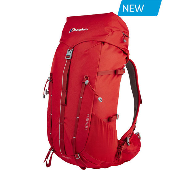 Equipment Berghaus FREEFLOW 25 RUCKSACK RED Outlet Online