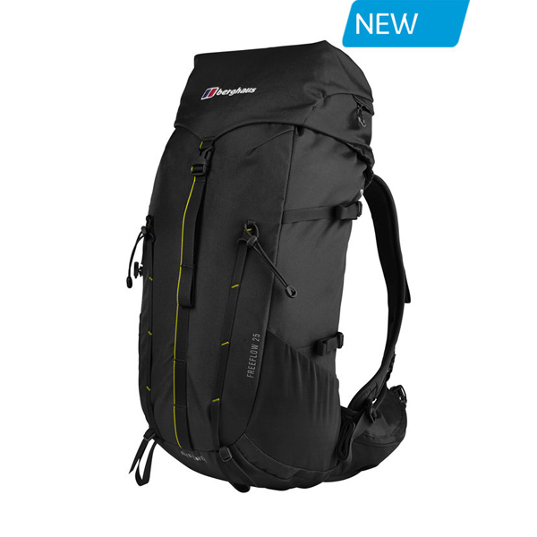 Equipment Berghaus FREEFLOW 25 RUCKSACK BLACK Outlet Online