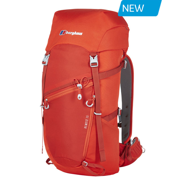 Equipment Berghaus REMOTE 35 RUCKSACK RED Outlet Online