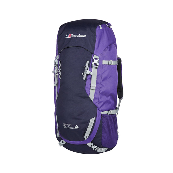 Equipment Berghaus RIDGEWAY 60+10 RUCKSACK TROPICAL MIDNIGHT/TILLANDSIA PURPLE Outlet Online