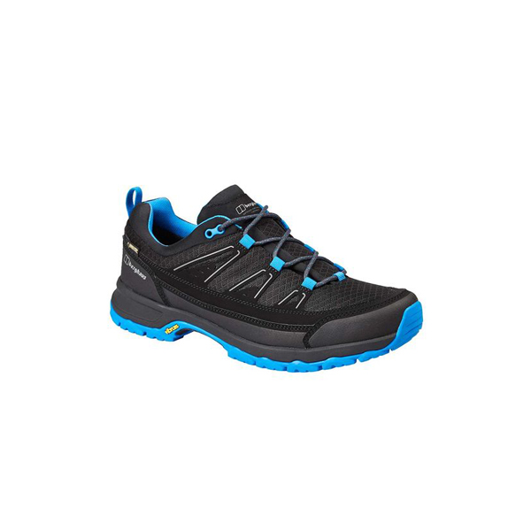 Men Berghaus EXPLORER ACTIVE GTX SHOES BLACK / BLUE Outlet Online