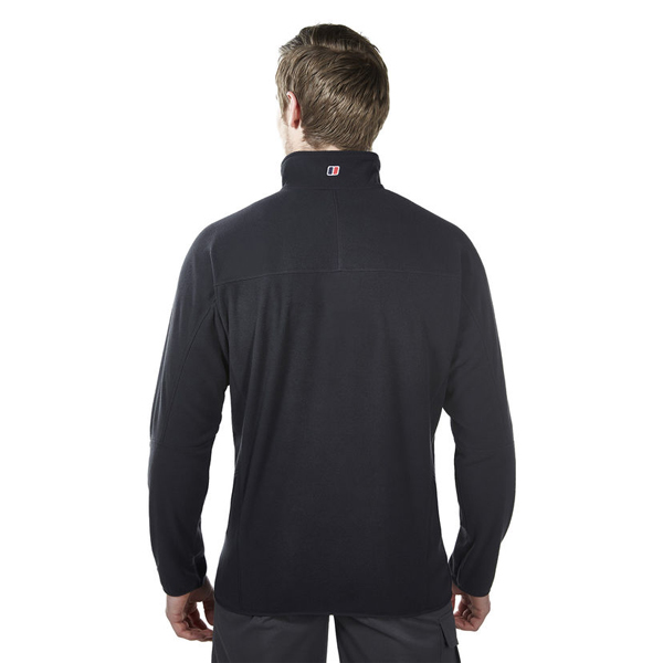 Men Berghaus SPECTRUM MICRO 2.0 HALF ZIP FLEECE BLACK Outlet Online