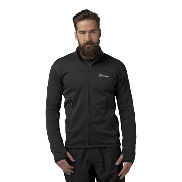 Men Berghaus EXTREM PRAVITALE 2.0 FLEECE DARK GREY / BLACK Outlet Online
